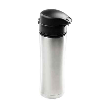 GSI Glacier Kaze Insulated Travel Mug - 13.5 fl.oz., Stainless Steel in Stainless - Closeouts