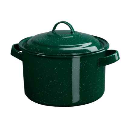 GSI Outdoors Camp Stock Pot - 4 Quart in Green - Closeouts