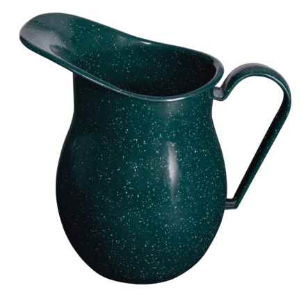 GSI Outdoors Enamelware Pitcher - 2 qt. in Green - Closeouts