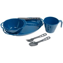GSI Outdoors Thrive Single Person Table Set in Blue - Closeouts