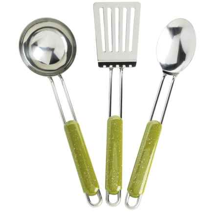GSI Pioneer Chef's Tools - 3-Piece in Green - Closeouts