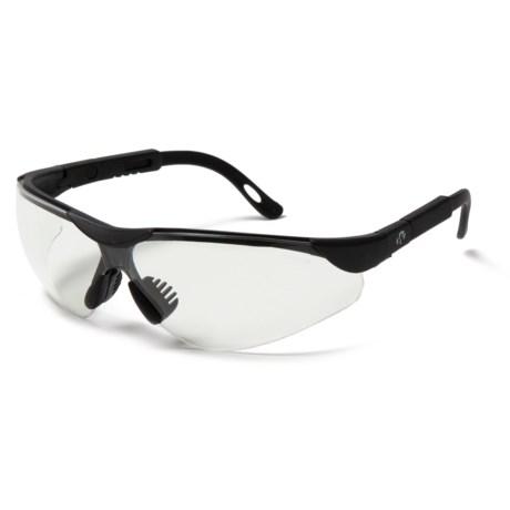 GSM Walker's Elite Sport Shooting Glasses in Clear