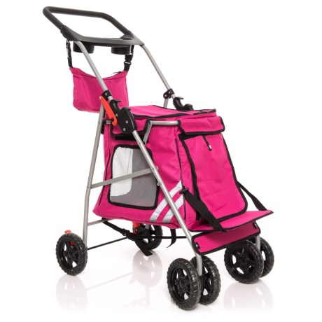 Guardian Gear Classic II Pet Stroller in Magenta