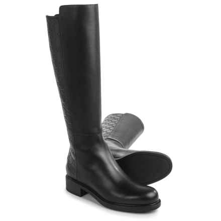Gucci Tall Knee-High Boots - Leather (For Women) in Black - Closeouts