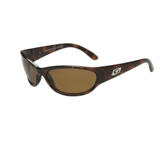 Guideline Bimini Sunglasses - Polarized, Glass Lenses in Tortoise/Freestone Brown