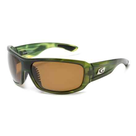 Guideline Eyegear Alpine Sunglasses - Polarized in Crystal Green Tortoise/ Brown - Closeouts