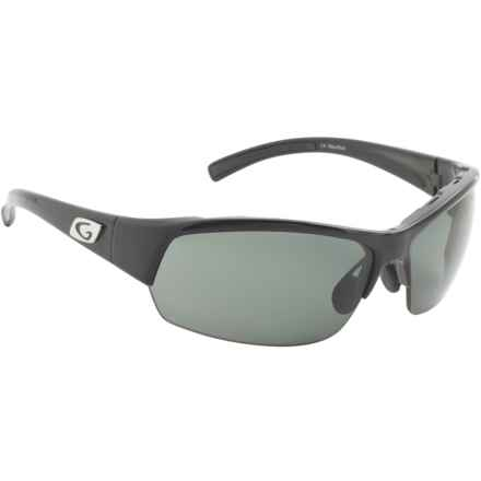 Guideline Eyegear Draft Sunglasses - Polarized in Shiny Black/Deepwater Gray - Overstock