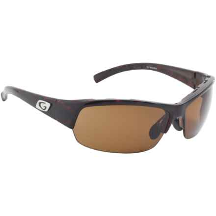 Guideline Eyegear Draft Sunglasses - Polarized in Shiny Brown Tortoise/Freestone Brown - Overstock