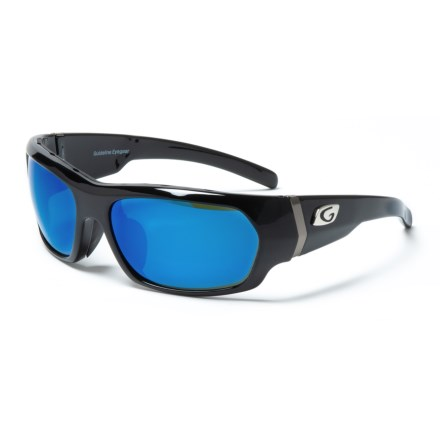 785dd40ee4bc Guideline Eyegear Eclipse Sunglasses - Polarized (For Men) in Shiny  Black Deepwater Gray