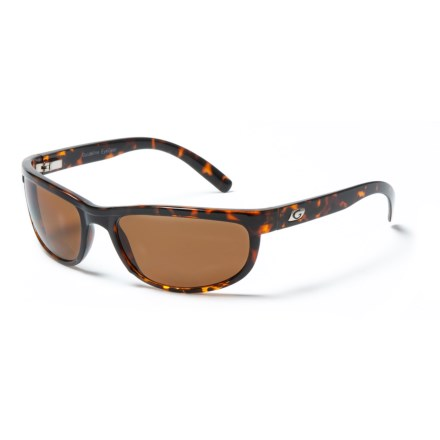 86491e2727 Guideline Eyegear Hatteras Bifocal Sunglasses - Polarized in Crystal Brown  Tortoise Freestone Brown - Closeouts