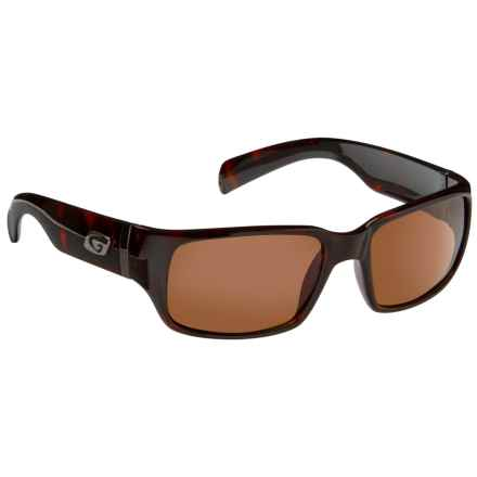 Guideline Eyegear Jack Sunglasses - Polarized in Brown Tortoise/Freestone Brown - Overstock