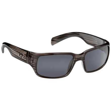 Guideline Eyegear Jack Sunglasses - Polarized in Graphite Frame/Deepwater Gray - Overstock