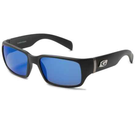 Guideline Eyegear Jack Sunglasses - Polarized in Matte Black/Deepwater Gray/Deep Six Blue - Overstock
