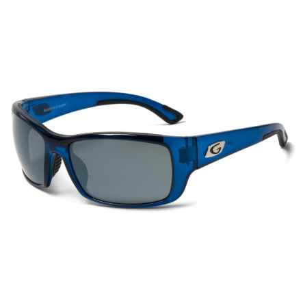 Guideline Eyegear Keel Sunglasses - Polarized in Crystal Blue/Deepwater Grey/Silver Flash Mirror - Overstock
