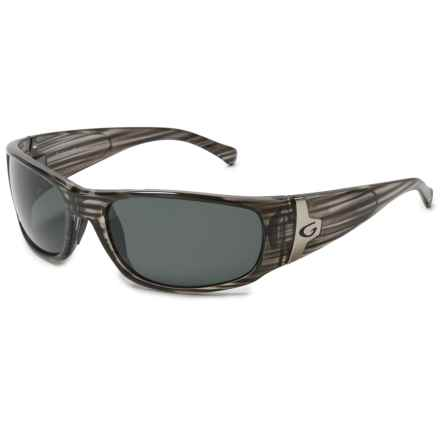 Guideline Eyegear Rio Sunglasses - Polarized in Crystal Grey Drift/Deepwater Grey - Overstock