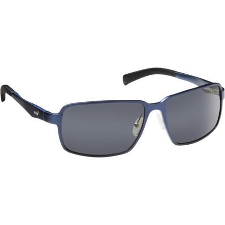 Guideline Eyegear Strike Sunglasses - Polarized in Matte Blue/Gray