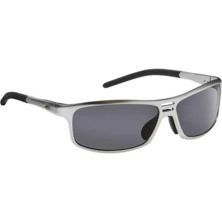 Guideline Eyegear Swift Sunglasses - Polarized in Matte Silver/Gray - Overstock
