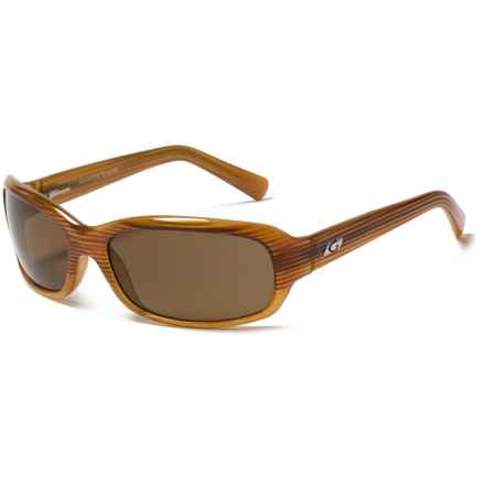 Guideline Eyegear Vista Sunglasses - Polarized in Crystal Toffee/ Amber Drift Fade/ Brown - Closeouts