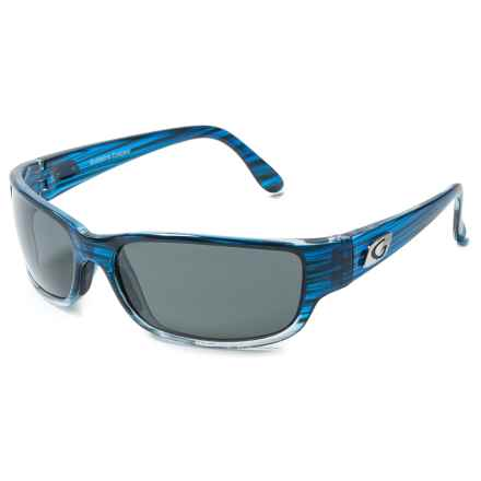 Guideline Eyewear Current Sunglasses - Polarized in Crystal Blue Drift/Deepwater Gray - Overstock