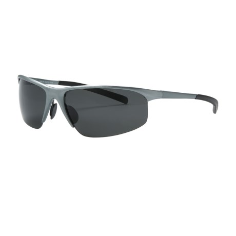 Guideline Mantis Sunglasses - Polarized in Gunmetal/Deepwater Grey