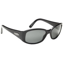 Guideline Marysol Sunglasses - Polarized (For Women) in Shiny Black/Deepwater Grey - Closeouts