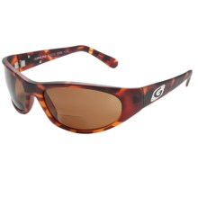 Guideline Rouge Bi-Focal Sunglasses - Polarized in Matte Tort/Brown - Closeouts
