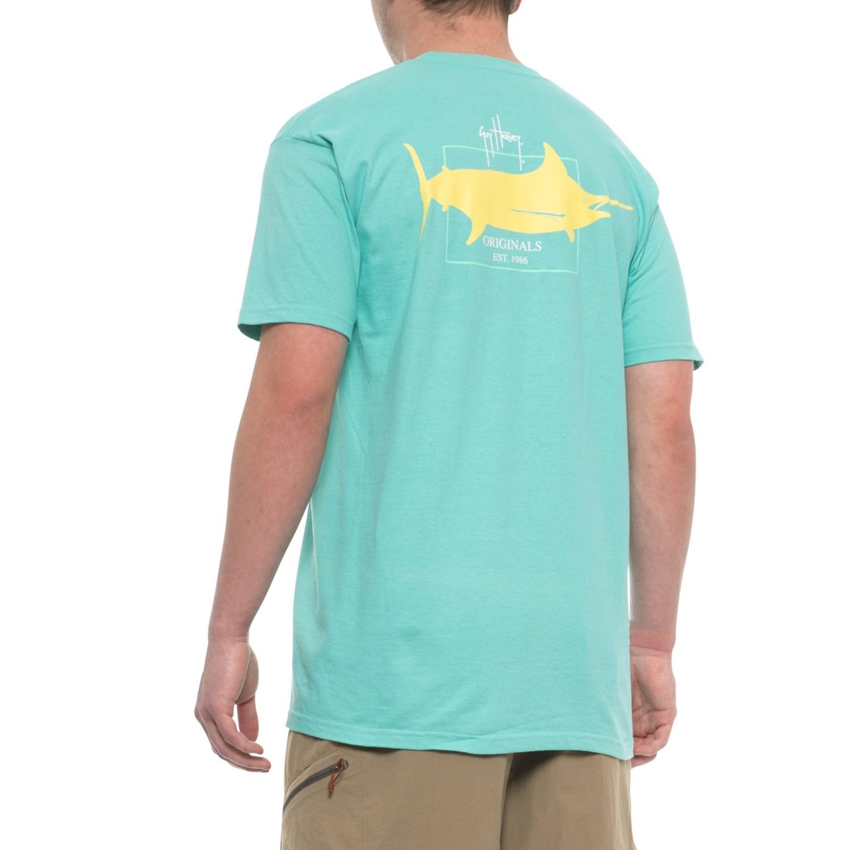 6ed951f9 Guy Harvey GH Logo T-Shirt - Short Sleeve (For Men)