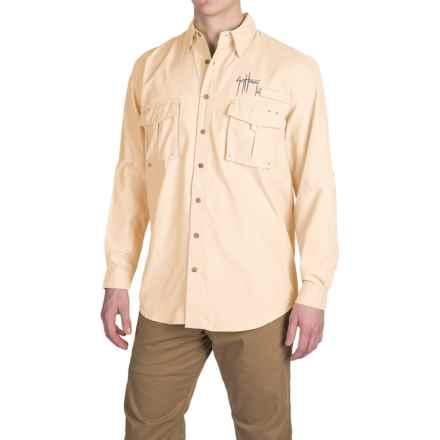 Guy Harvey Grand Slam Tech Shirt - UPF 30+, Long Sleeve (For Men) in Yellow - Closeouts