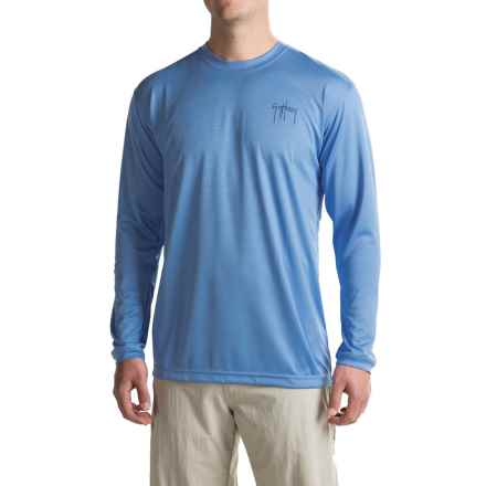 Guy Harvey High-Performance T-Shirt - UPF 30+, Long Sleeve (For Men) in Blue - Closeouts