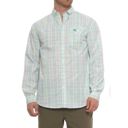 Guy Harvey La Tis Shirt - Long Sleeve (For Men) in Green - Closeouts
