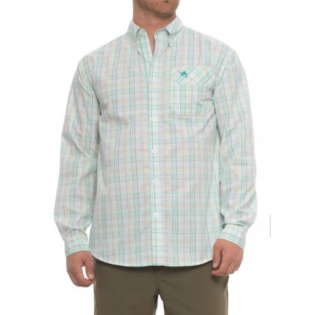 Guy Harvey La Tis Shirt - Long Sleeve (For Men) in Green
