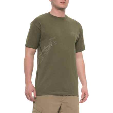 46a3f3b5a Guy Harvey Tuna Etchings T-Shirt - Short Sleeve (For Men) in Seaweed