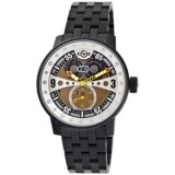 GV2 by Gevril Powerball Big Date Watch - Black Steel