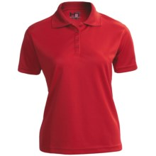 H2T Apparel High-Performance Polo Shirt - Short Sleeve (For Women) in Red - Closeouts