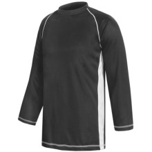 H2T Apparel High-Performance Shirt - Long Raglan Sleeve (For Men) in Black/White - Closeouts