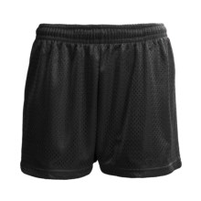 H2T Apparel Mesh Shorts (For Women) in Black - Closeouts