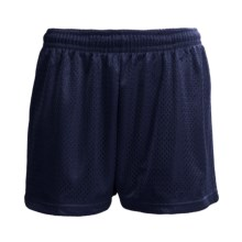 H2T Apparel Mesh Shorts (For Women) in Navy - Closeouts