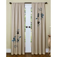 "Habitat Santander Flip Curtains - 84x84"", Grommet-Top in Vigo - Closeouts"