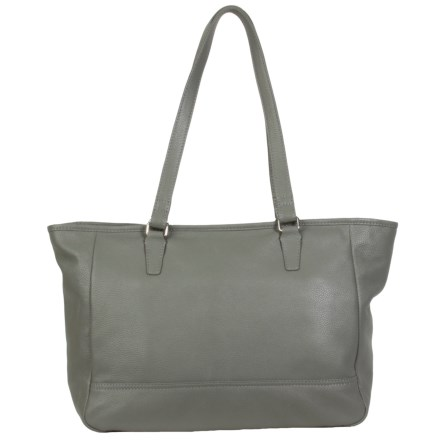 c6fd238bc2 HADAKI Cosmopolitan Tote Bag - Leather (For Women) in Pewter - Closeouts