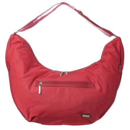 HADAKI Hobo Fit Bag (For Women) in Rhubarb - Closeouts