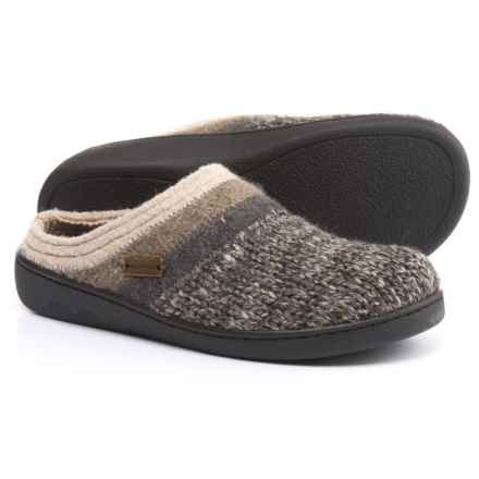 Haflinger AT Power Slippers - Boiled Wool (For Women) in Grey - Closeouts