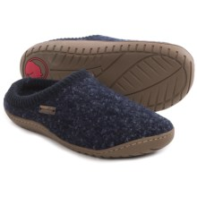 Haflinger AT Power Slippers - Boiled Wool (For Women) in Navy - Closeouts