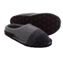 Haflinger Sally Boiled Wool Slippers (For Women) in Violet - Closeouts