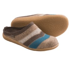 Haflinger Valley Slippers - Wool (For Women) in Brown - Closeouts