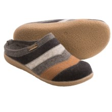 Haflinger Valley Slippers - Wool (For Women) in Grey - Closeouts