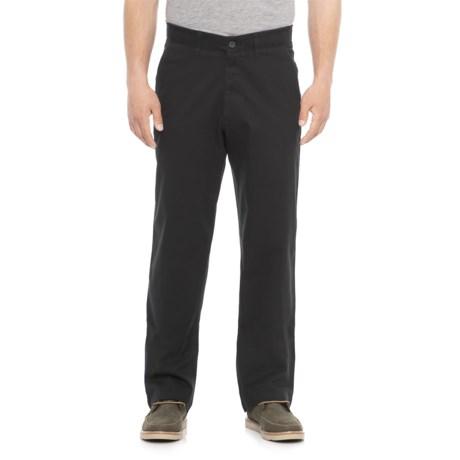 Haggar Coastal Comfort Chino Pants - Classic Fit (For Men) in Black