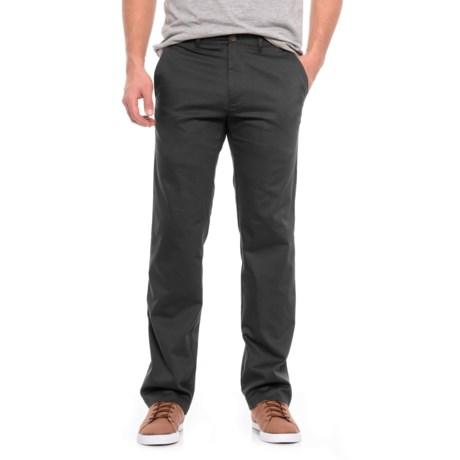 Haggar In Motion Rambler Pants (For Men) in Black