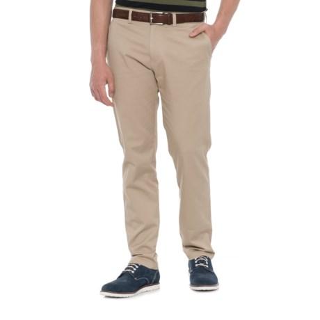 Haggar Life Khaki Sustainable Chino Pants - Slim Fit (For Men) in Khaki