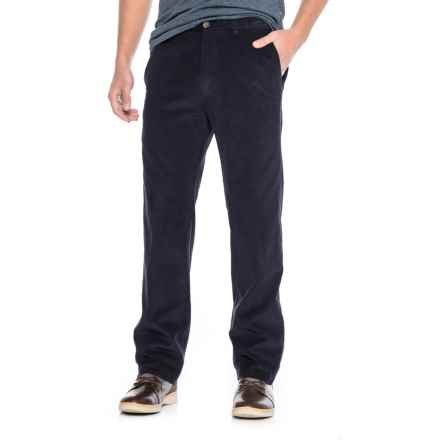Haggar Work to Weekend Corduroy Pants (For Men) in Blue Sea - Closeouts