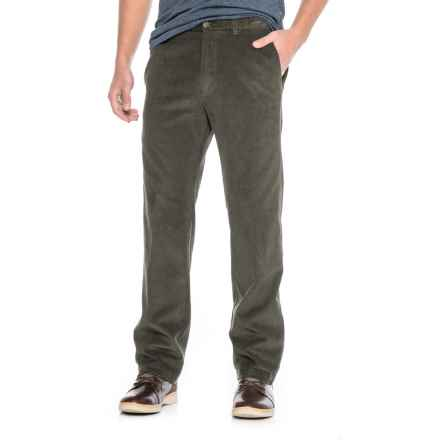 Haggar Work to Weekend Corduroy Pants (For Men) in Mil Green - Closeouts